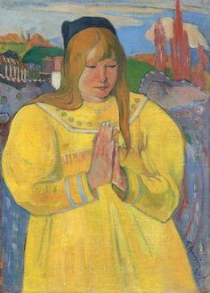 Jeune Chrétienne de Paul Gauguin. Une histoire de l'impressionnisme au Musée des beaux-arts de Montréal