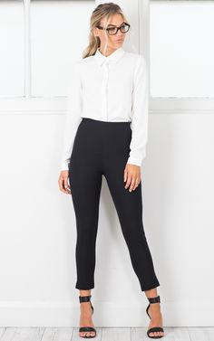 Round The Clock pants in black | SHOWPO Fashion Online Shopping