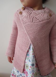 Child Knitting Patterns Ravelry: Challenge Gallery for Nanook sample by Heidi Kirrmaier Baby Knitting Patterns Baby Knitting Patterns, Knitting For Kids, Knitting Stitches, Baby Patterns, Crochet Patterns, Baby Girl Cardigans, Baby Sweaters, Diy Tricot Crochet, Knitted Baby Cardigan