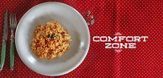 Αυγά Καγιανά ή Στραπατσάδα Salt And Pepper Recipes, Greek Recipes, Main Dishes, Grains, Rice, Stuffed Peppers, Cooking, Omelettes, Food Food
