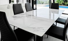 Unique-designed marble handicrafts in high quality and floral as well as embossed painting are really awesome and so admirable here. All of our marble tabletops collections are crafted by skilled craftsmen with good quality raw materials. These are incomparable with any other decorative items. Some of the creations include a marble pot in which you can add fresh or artificial flowers, marble tabletops for gifting on any occasion or to use as decorative pieces for home decoration. #handicrafts Dining Table Set Designs, Marble Dining Table Set, Marble Top Dining Table, Table Top Design, White Table Top, Italian Marble, Table Settings, New Homes, House Design