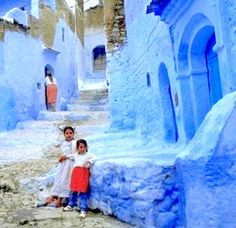 Morocco - love the hues of blue that seem to show up in so many of the pictures in Morocco.