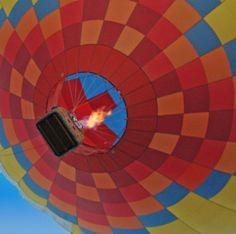 2010 Albuquerque International Balloon Fiesta - Just taken flight!