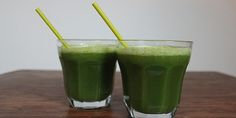 Grøntsagsjuice med broccoli