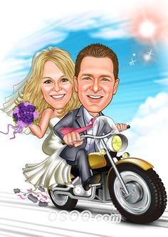 Shop for Caricature artist draw cartoon portrait and Custom Cartoon logo, business card, poster, banner design for your business. Cartoon Logo, Cartoon Design, Cartoon Art, Caricature Artist, Caricature Drawing, Family Illustration, Illustration Artists, Vespa Wedding, Wedding Caricature