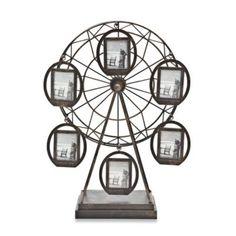 Godinger 6-Picture Rotating Ferris Wheel Frames - BedBathandBeyond.com