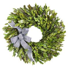 Preserved Myrtle Wreath at Joss and Main