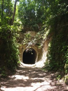 Black tunnel Quebradilla, Puerto Rico