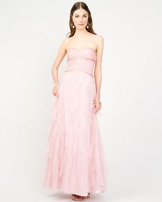 Sweetheart Mesh Gown PINK or Blue