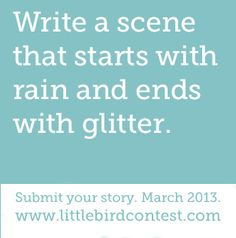 The contest deadline is March 31st