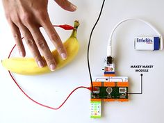 Reserve your The Makey Makey Module by @thejoylabz at the @littleBits #bitLab #UserGeneratedHardware