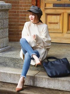 Japanese Outfits, Korean Outfits, Fashion Bags, Fashion Outfits, Womens Fashion, Winter Outfits, Casual Outfits, Korean Fashion Trends, Autumn Inspiration