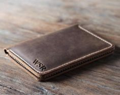 Wallet Gift Ideas for Men Father's Day Gift Leather by JooJoobs