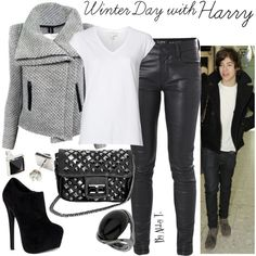 Winter Day with Harry