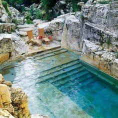 - Rock Pool - 📷Gerry Teuben #poupettestbarth #naturalpool #nature #inspiration #photo #luxuryvilla #chillday #summervibes #relaxday #peace