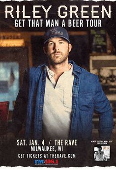 The Rave/Eagles Club/Eagles Ballroom - Live music, concerts, shows, and webcasts from Milwaukee, WI Country Music Artists, Country Music Stars, Country Singers, Usa Country, Country Boys, Concert Tickets, Get Tickets, Music Love, Live Music