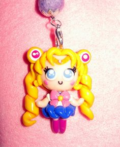 Chibi sailor moon, made in fimo
