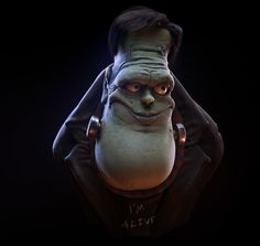 Frank....... Done in Zbrush and Max....BY:  Luan Correa Pinto