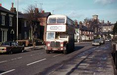 1297 F, Colchester Borough Transport Massey bodied AEC Regent V, Colchester, circa 1971.