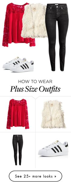 """Untitled #856"" by cecilialukas on Polyvore featuring adidas, Hollister Co. and H&M"