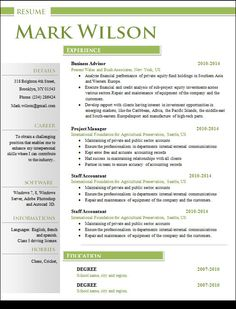 Professional Resume Template Pkg By Jannalynncreative On Creative