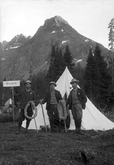 This is what Hiking Guides looked like 100 years ago!