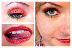 Cute Strawberry Shortcake Inspired Makeup Tutorial   Jennifer