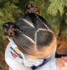 Geflochtene Frisuren - I& Sorry we are one day late but we want to wish Donna . Lil Girl Hairstyles, Teenage Hairstyles, Kids Braided Hairstyles, Pretty Hairstyles, Braid Hairstyles, Curly Hair Styles, Natural Hair Styles, Girl Hair Dos, Toddler Hair