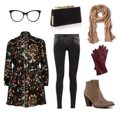 """""""vintäge"""" by saumaathiraa on Polyvore featuring STELLA McCARTNEY, River Island, 7 For All Mankind, Breckelle's, Jimmy Choo, Banana Republic and Mark & Graham"""