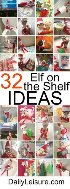 SIXTEEN Elf On The Shelf Ideas! - Daily Leisure