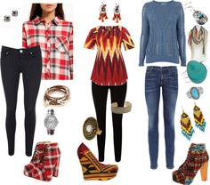 """""""These boots are a statement piece...cool"""" by carolwatergirl on Polyvore"""