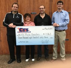 Kankakee HighSchool Music raised $11,863 at their Mattress Fundraiser with CFS NW Indiana