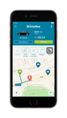 The DriveNow App – Functions for advanced users - DriveNow Blog