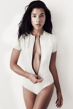 Lisa Marie Fernandez Resort 2015 Fashion Show - Hannah Bronfman