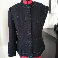 Couture et Tricot: Jacket progress report for the weekend - Progress in jacket this weekend, sews and knits tany, sewing tips, tutorials sewing, sewing tips, step-by-step fashion, couture tutoriel, paso a paso sew
