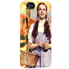 want it! ; One of my favorite discoveries at WBShop.com: Wizard of Oz Dorothy iPhone Case