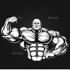 Man of Iron by Vector graphics Install any size without loss of quality. ZIP archive contains: - file - file JPEG; Bodybuilding Logo, Bodybuilding Pictures, New Hulk, Muscle Bodybuilder, 3d Art Drawing, Gym Logo, Hard Bodies, Cool Pokemon, Stencil Art