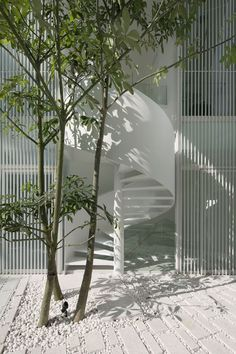The Park House, Singapore, 2011 by formwerkz #architecture #white #design #stair #modern #minimal