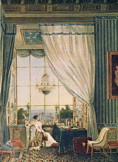 Caroline Murat, Royal Palace Naples  1810