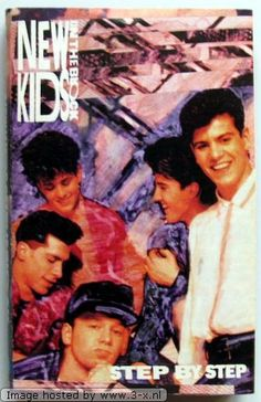 New Kids On The Block - These guys were the wallpaper in my teenage bedroom. Well, them and Kirk Cameron!