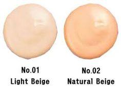 Aqui os dejo otra imagen de los tonos, algo más visible Creo que es una bbcream que se adaptará a todo tipo de pieles, principalmente por su alto contenido en agua.