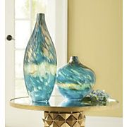 Glass vases with fabulous movement ~ Murano