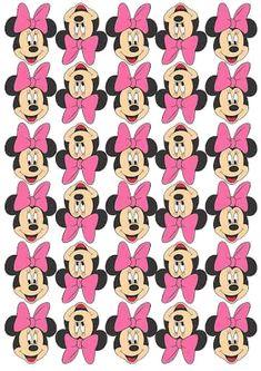 Mickey And Minnie Cake, Mickey E Minie, Minnie Baby, Minnie Mouse Baby Shower, Minnie Mouse Pink, Minne, Minie Mouse Party, Minnie Mouse Theme Party, Mickey Mouse Clubhouse Birthday Party