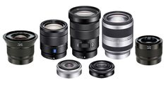 Here's a full round-up of APS-C E-mount lenses for Sony a6300, a6000, a5100, a5000 and NEX Mirrorless E-mount Cameras