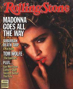 madonna, rolling stone cover, november 1984 USA
