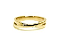 AMBRACE K18 yellow gold ring simple design レディース リング 指輪 シンプル デザイン ピンキーリング イエローゴールド