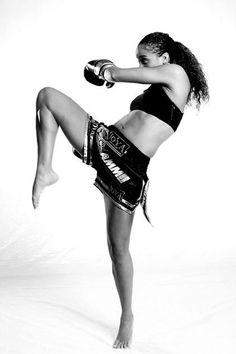 jemyma betrian, queen of kick boxing