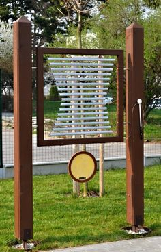 Léčivé zvonkohry Music Garden, Healing, Outdoor Structures