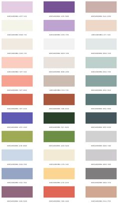 Palette Overview | Spring | Issue No. 1 | Design Seeds + Color Atlas by Archroma®  via @designseeds