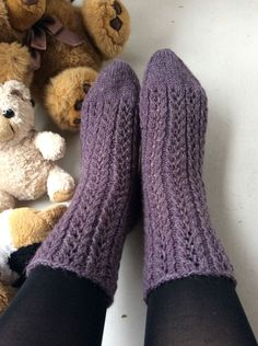 Knit Or Crochet, Leg Warmers, Fun Projects, High Socks, Knitting, Crafts, Fashion, Lilac, Knitting Socks